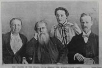 Leaders of the Inland China Mission: The Hudson-Taylor family.