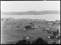Looking west north west from Mangere mountain...1931.