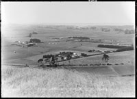 Looking south by east from Mangere Mountain...1931.