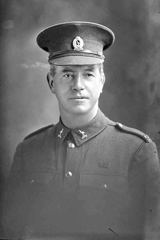 1/4 portrait of Corporal Gallagher [David Gallaher] of the 22nd Reinforcements - Auckland Libraries