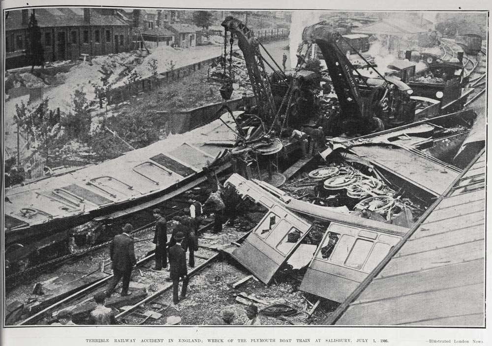 Railway Accident in England