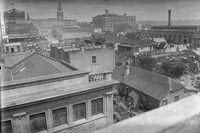 Looking south from Federal Street showing Hobson Street with.....
