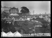 Looking south west from Selwyn Terrace (now Augustus Terrace).....