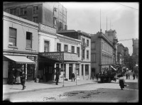Looking west from O'Connell Street showing the premises of J W.....