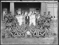 Nurse Nobbs soldiers group