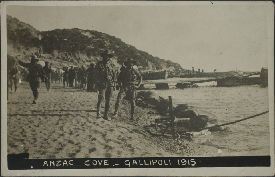 Anzac Cove - Gallipoli 1915 - Auckland Libraries