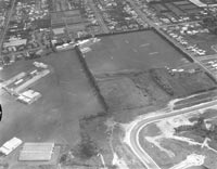 Aerial view of Avondale College ....