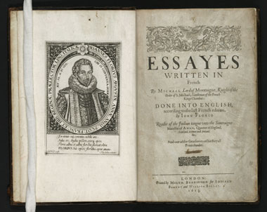 Essays by montaigne